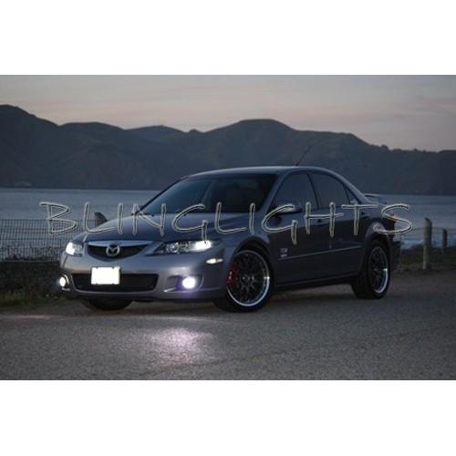 2003 2004 2005 2006 2007 2008 Mazda6 Bright White Lights Bulbs for Fog Lights F