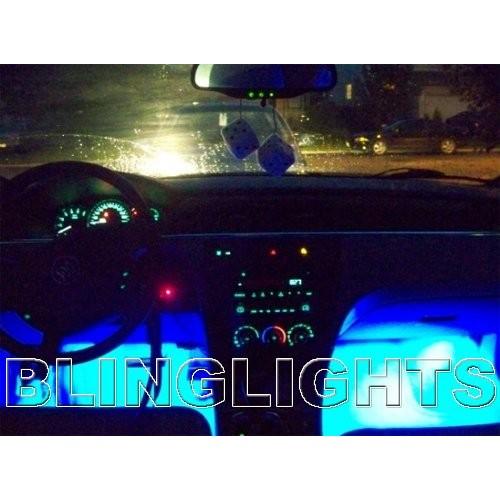 2005 2006 2007 2008 2009 Buick LaCrosse White LED Interior Lighting Floor Foot