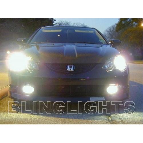 2002 2003 2004 Acura RSX White 4750K JDM Bulbs Head Lights