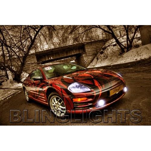 2000 2001 2002 Mitsubishi Eclipse Angel Eye Fog Lights Halo Fog Lights Driving