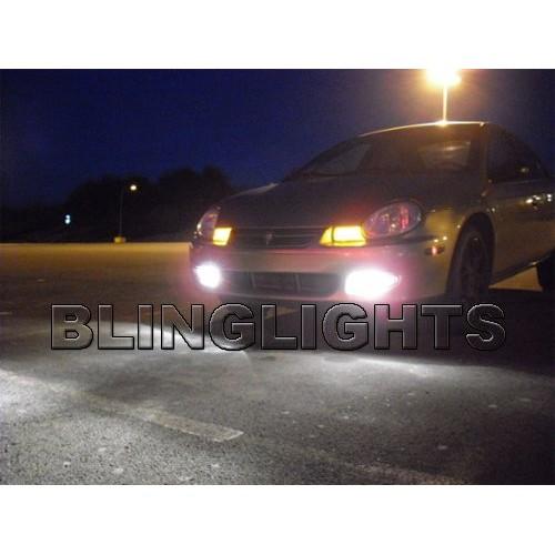 2002 Dodge Neon Base S ES SE SST SXT Xenon Fog Lights Driving Light Kit