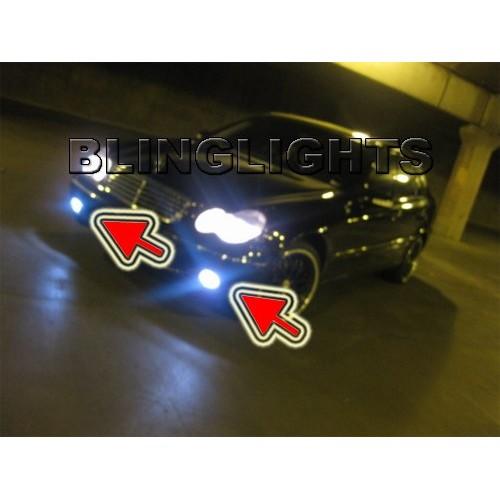 2005 2006 2007 Mercedes-Benz C200 CDI Xenon Fog Lights Driving Lamps Fog Lights