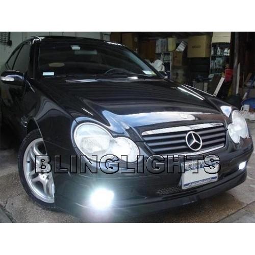 2001 2002 2003 2004 Mercedes-Benz C320 Xenon Fog Lights Driving Lamps Fog Light
