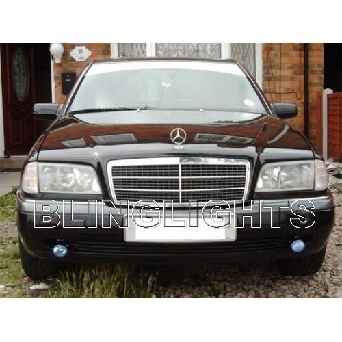 1994 1995 1996 1997 Mercedes-Benz C220 Xenon Fog Lights Driving Lamps Fog Light