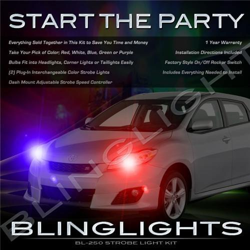 Toyota Voltz Police Strobe Light Kit for Head Lights Strobes