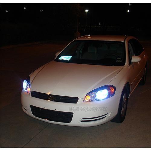 Chevrolet Chevy Impala Bright White Light Bulbs for Head Lights