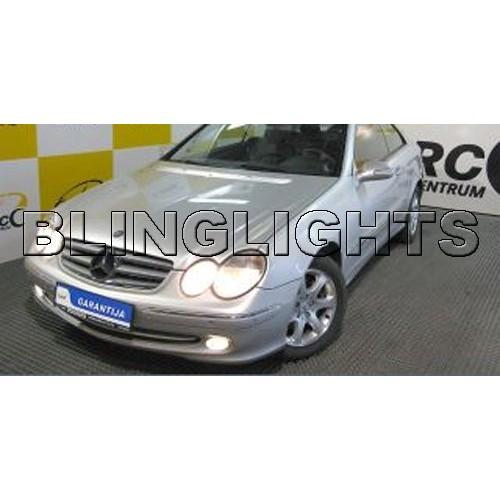 2002 2003 2004 2005 Mercedes-Benz CLK200 Xenon Fog Lights Driving Lamps Fog Lig