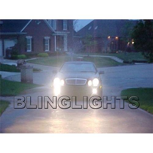 1997 1998 1999 2000 2001 2002 Mercedes-Benz CLK320 Xenon Fog Lights Driving Lig