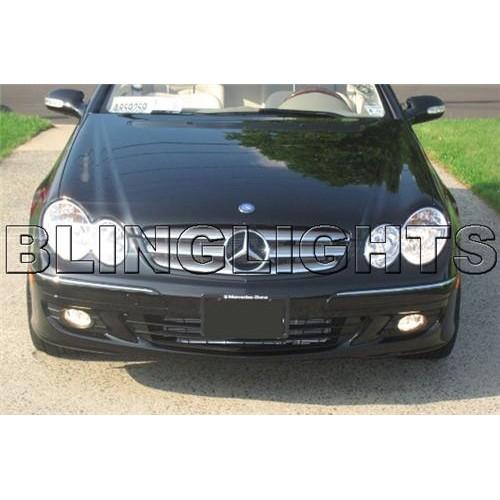 2006 2007 2008 Mercedes-Benz CLK350 LED Fog Lights Driving Lamps Fog Lights Kit