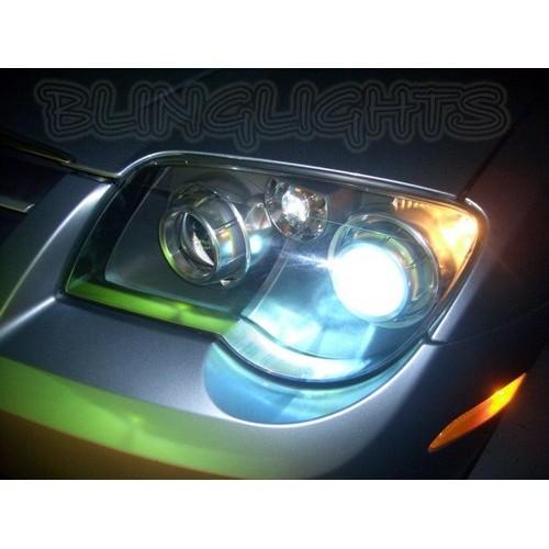 Chrysler Crossfire Bright White Head Lights Light Bulbs Replacement Halogen Upg