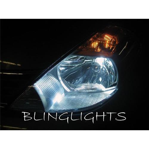 2007 2008 2009 2010 2011 Nissan Versa / Tiida White Head Lights Head Light Lamp