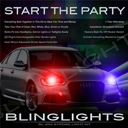 Audi A6 S6 RS6 Strobe Police Light Kit for Head Lights Strobes Lights