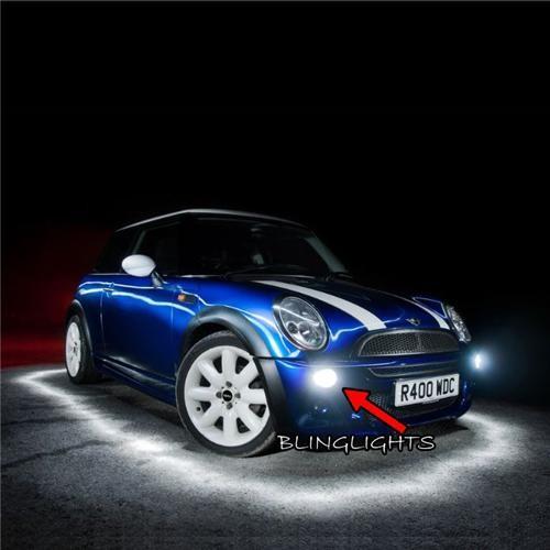 2001 2002 2003 2004 2005 2006 Mini Cooper R50 Hardtop Front Fog Lights Driving