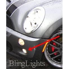 2004 2005 2006 2007 2008 Mini Cooper R52 Xenon Lower Fog Lights Driving Lights