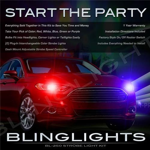 Ford Fusion Strobe Lights for Head Lights Police Strobes Kit