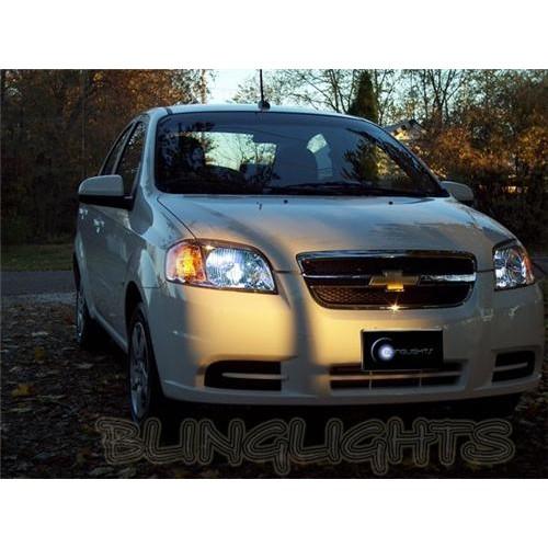 2009 2010 Pontiac G3 Wave Bright White Light Bulbs for Head Lights