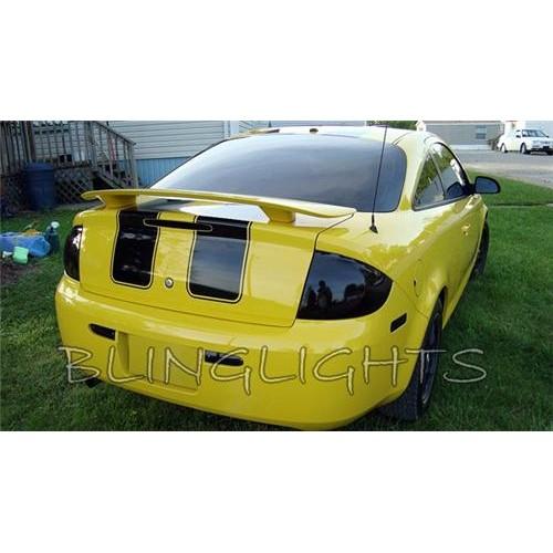 Pontiac G5 Tinted Smoked Tail Lights Protection Overlay Film