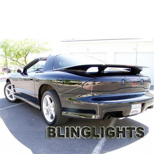 Pontiac Firebird Trans Am Tinted Smoke Tail Lights Overlay Film Protection