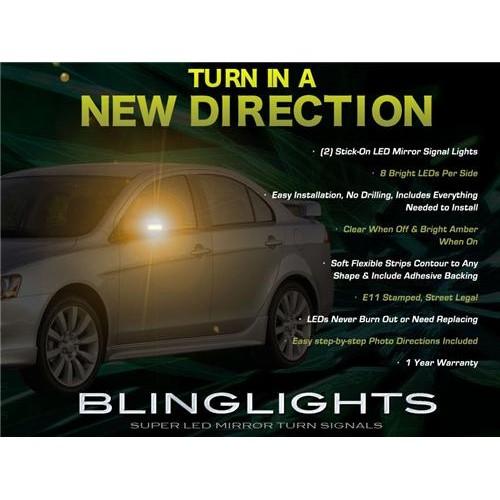 Mitsubishi Lancer LED Mirror Turnsignals LEDs Turn Signals Lights Mirrors Signa