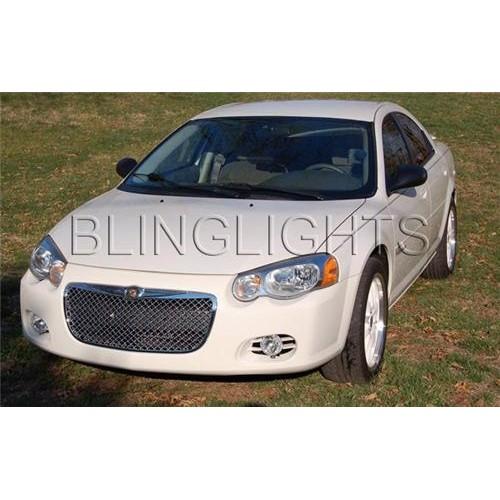 2004 2005 2006 Chrysler Sebring Convertible Halo Fog Lights Angel Eye Fog Light