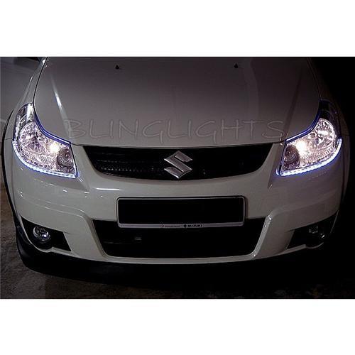 Suzuki SX4 LED DRL Light Strips for Head Lights Day Time Running Strip Lights