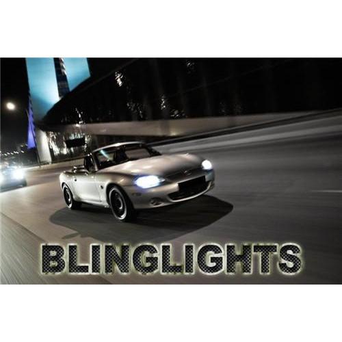 Mazda Miata MX-5 MX5 Bright Headlamp HeadLight Bright White Upgrade Replacement