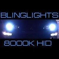 H4 9003 HB2 8000K Light Blue 55 Watt Xenon HID Lamp Conversion Kit High Low Sys