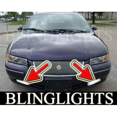 1995-2000 CHRYSLER CIRRUS FOG LIGHTS DRIVING LAMPS LIGHT LAMP KIT lamps lx lxi