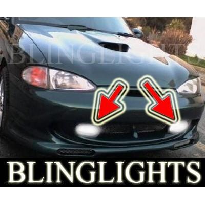 1995 1996 1997 1998 1999 Hyundai Accent GT Xenon Fog Lights Driving Lights Fog