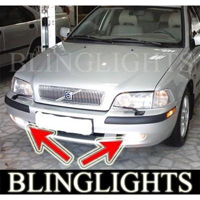 1995-2003 VOLVO S40 2.0T XENON FOG LIGHTS DRIVING LAMPS LIGHT KIT 1996 1997 199