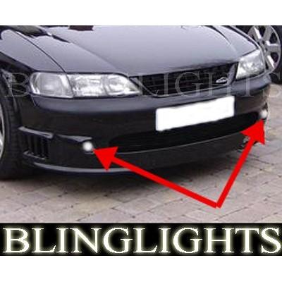 95-02 Vauxhall Vectra B Xenon Fog Lights Driving Lights Kit