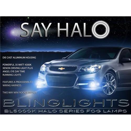 2014 2015 Chevy SS Halo Fog Light Driving Light Kit Angel Eye