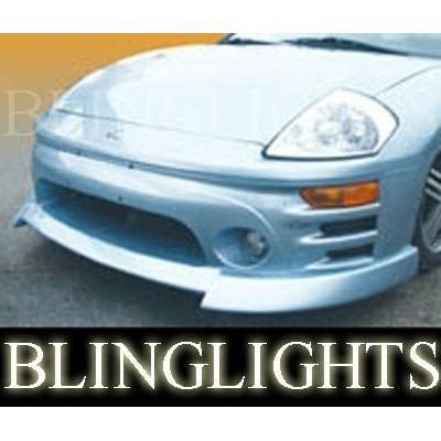 2000 2001 2002 2003 2004 2005 Mitsubishi Eclipse Erebuni Body Kit Bumper Fog Li
