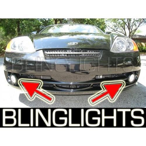 2003 2004 HYUNDAI TIBURON COUPE XENON FOG LIGHTS DRIVING LAMPS LIGHT LAMP KIT B