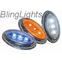 1999-2009 JAGUAR S-TYPE LED TURNSIGNALS 3.0 4.2 r 2000 2001 2002 2003 2004 2005