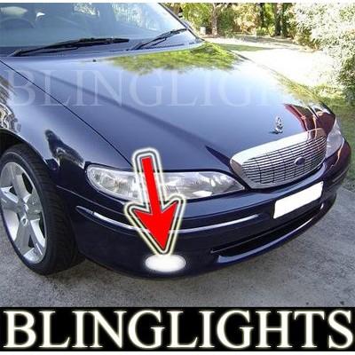 1996-1998 FORD FAIRLANE NL SERIES FOG LIGHTS driving lamps 1997