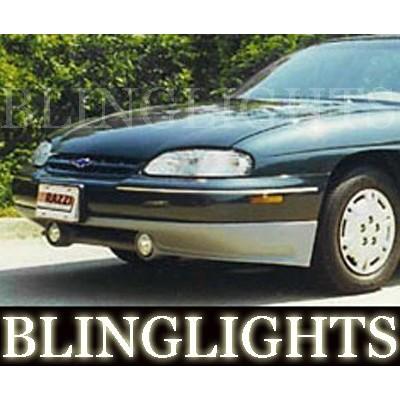 1997 1998 1999 Chevy Lumina Razzi Body Kit Angel Eyes Fog Lights Halos Driving