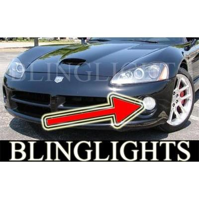 2003-2010 Dodge Viper Halo Fog Lights Angel Eye Driving Lights Fog Lights Kit