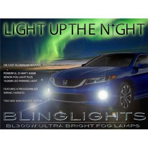 2013 2014 Honda Accord Coupe Xenon Foglamp Driving Lights Fog Lights Driving Li