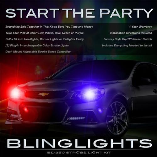 Holden Statesman Police Head Lights Strobes Lights Kit