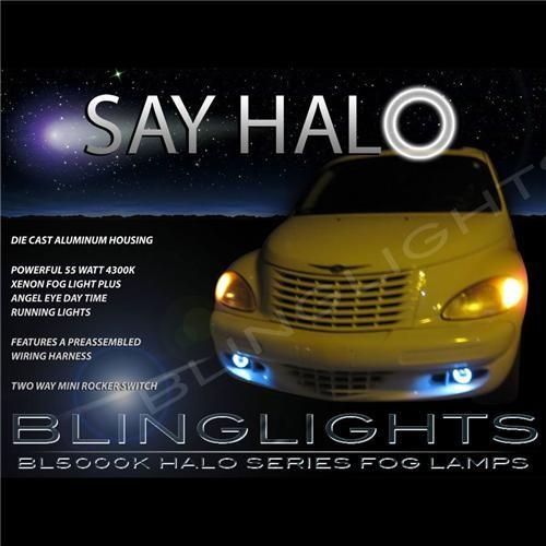 2006 2007 2008 2009 2010 Chrysler PT Cruiser Halo Fog Lights Angel Eye Driving
