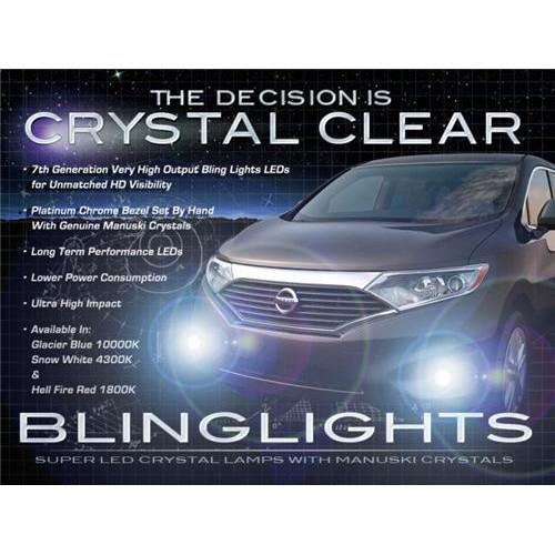 2011 2012 2013 Nissan Quest LED Fog Lights Driving Fog Lights Kit