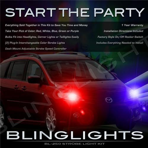 Mazda Premacy Head Lamp Strobe Light Kit for both Head Lights with controller