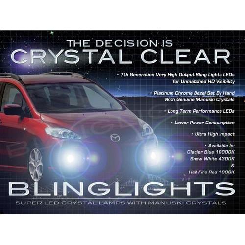 2005-2010 Mazda Premacy LED Fog Lights Driving Lights Kit Fog Lights Driving Li
