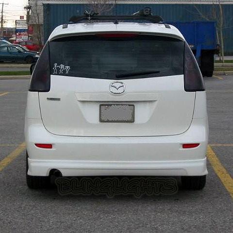 2005-2010 Mazda Premacy Smoked Tail Light Lamp Overlay Kit Tinted Protection Fi