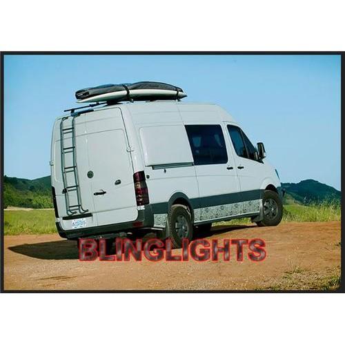 Dodge Sprinter Tinted Smoked Taillamp TailLight Overlay Film Protection