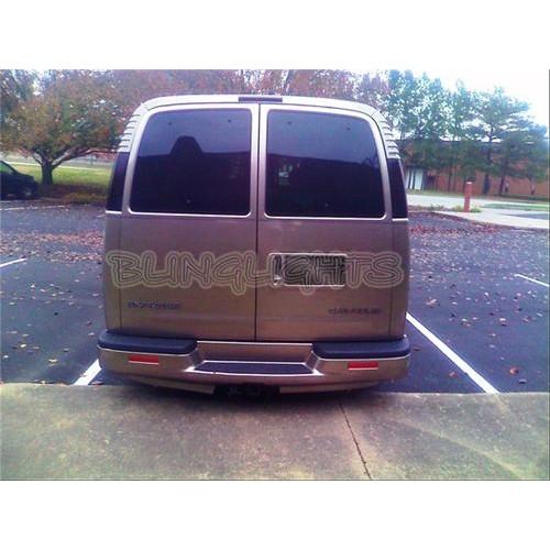 GMC Savana Smoked Tinted Tail Lights Tint Film Protection Overlay
