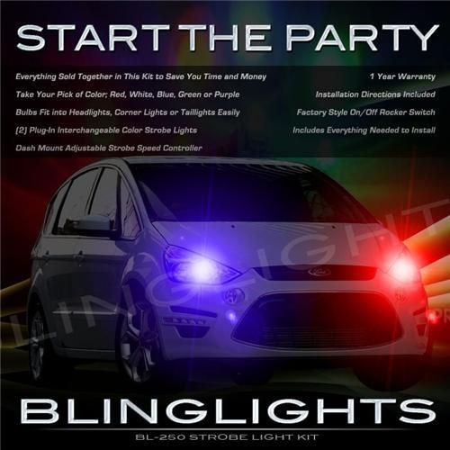 Ford Grand C-Max Strobe Police Light Kit for Head Lights Lamps Strobes