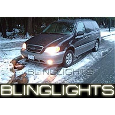 1999-2005 KIA CARNIVAL ANGEL EYE FOG LIGHTS HALO LAMPS LIGHT LAMP KIT 2000 2001