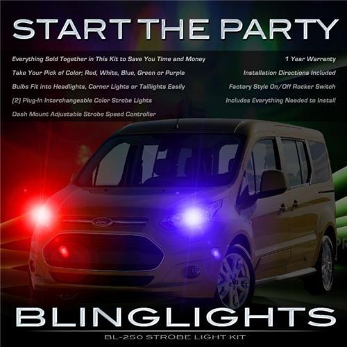 Ford Tourneo Custom Police Head Lights Strobe Light Kit